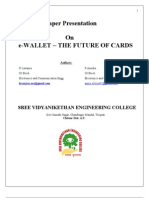 e Wallet Sreevidhya@Students