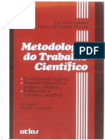 Eva Maria Lakatos & Marina de Andrade Marconi- Metodologia Do Trabalho Científico