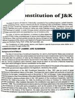 Constution of J&K