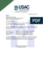 Carta Practica Docente 2018