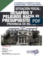 Idesba - Balance Situacion Fiscal. Desafios y Peligros Hacia El Presupuesto 2019 - Provincia de Buenos Aires