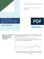 Facturación municipal Rosario julio 2018