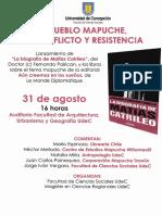 Biografía Matías Catrileo