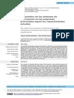 Diagnóstico de Los Sistemas de Información en Las Empresas