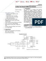 CDCM9102 Clock Generator
