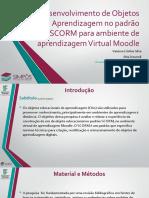 Desenvolvimento de Objetos  de Aprendizagem no padrão SCORM