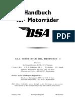 Handbuch BSA Teil 2 (German)