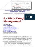 6 - Pizza Dough Management -- Pizzeria Operations -- CorrellConcepts.com
