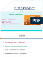 Computer Project Ms Powerpoint