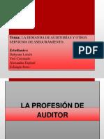 La Profesión de Auditor