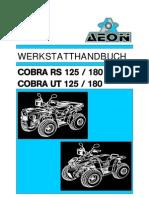 Handbuch Aeon Cobra Rs 125-180 Quad (German)