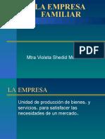 Empresas Familiares 2007