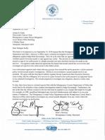 Montgomery Co. letter regarding Judge Kavanaugh