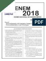 Simulado Enem Prova2 2018