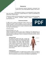 Amenorrea y SPM