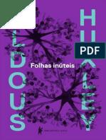Folhas Inuteis - Aldous Huxley