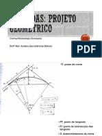 Estradas Projeto Geométrico-ParteIV