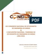 Bases de Debate Minero Xivconeiminsanmarcos