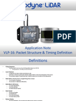 63-9276 Rev C VLP-16 Application Note - Packet Structure Timing Definition