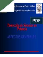 Protección de Sistemas de Potencia  - Aspectos Generales