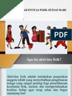 PHBS (Melakukan Aktivitas Fisik Setiap Hari)