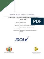 6. Análisis y Proyecciones de La Economía Regional
