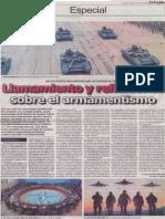 Llamamiento y reflexiones sobre el armamentismo, Francis Pathey
