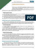 Terça Dos Tribunais - Poderes Administrativos - Dia 14.08.2018