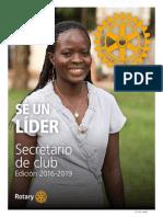 Secretario Lider Del Rotary