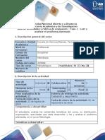 Guía de Actividades y Rúbrica de Evaluación Fase 1 Leer y Analizar El Problema Planteado