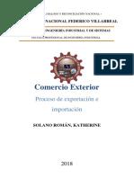 Proceso exportacion