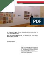 DOLINKO, Silvia. de La Protesta Al Malba, Circuitos de Intervencion Para Las Xilografias de Ballester Peña