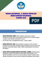 SOSIALISASI USBN, & UN Tahun 2018.pptx