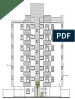 Fachada Rua Catão Roxo - Dijon