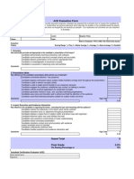 Ace Evaluation Form - En