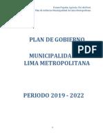 Pablo Silva - Frente Popular Agricola FIA Del Perú - Plan de Gobierno - Elecciones 2018