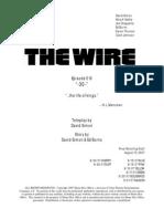 The Wire Season 5x Episode 10 Script