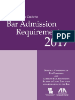 2017 Guide to American Bar Admission