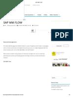 SAP MM FLOW