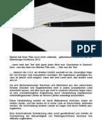 Protokoll Bilderberger-Konferenz 2012  (Auszug)