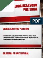 Globalisasyong Politikal