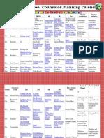 Elementaryschool Counselor 20152016 Calendar Planner