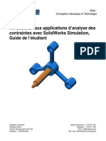 SolidWorks Simulation Student Guide FRA