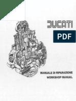 Reparatursanleitung Ducati GT-GTS Englisch