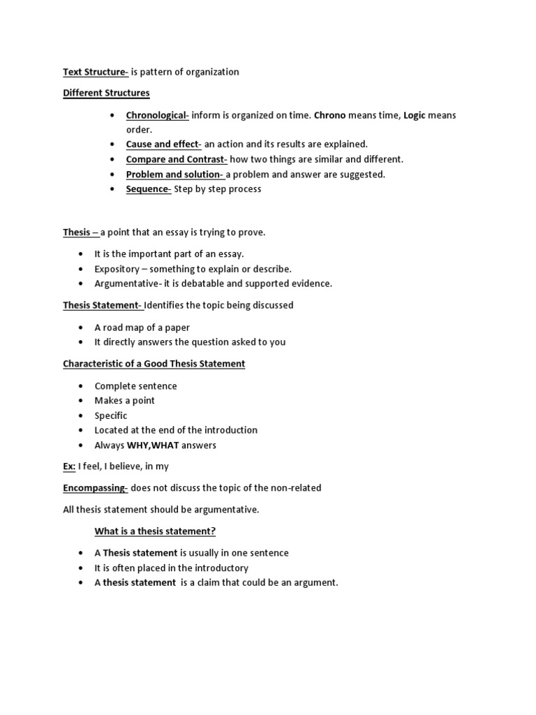 Thesis For Essay  Topics For Argumentative Essays For High School also Photosynthesis Essay Text Structure  Thesis  Question Term Paper Essays