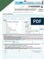CENSO 2010 - Cuestionario Ampliado de Viviendas Particulares