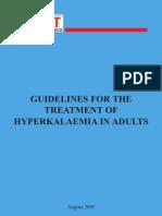 Hyperkalaemia Booklet