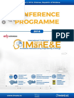 IMANEE 2018 Conference Programme