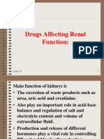 9. Drugs Affecting Renal Function