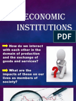 3. Economic Institutions
